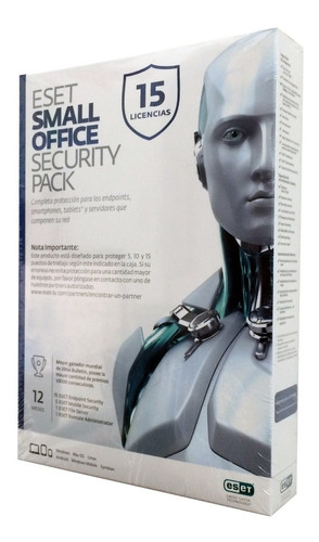 antivirus eset office security 15 pc 1 servidor
