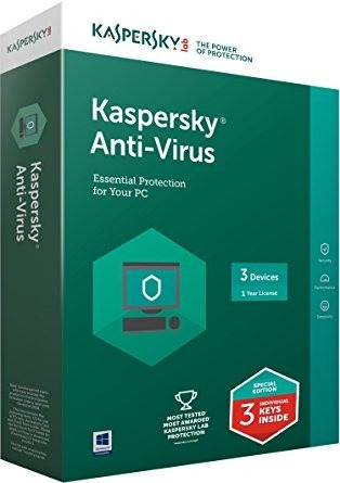 Kaspersky Antivirus 3usuario 1y Computers/tablets & Networking Antivirus & Security