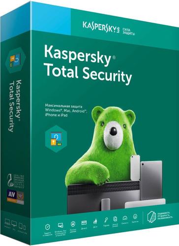 antivirus kaspersky total security 3 pc mac 1 año nuevo