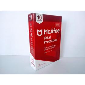 Antivirus Mcafee Total Protection 2020 10 Dispositivos 1 Año