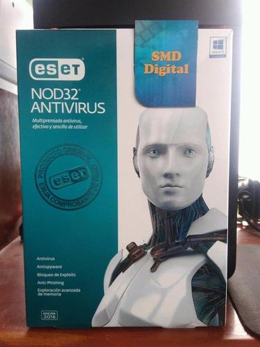 antivirus nod 32 para pc o laptop