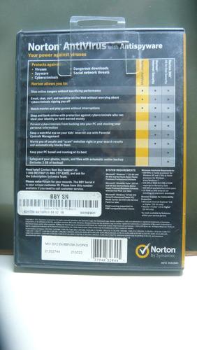 antivirus norton 2012 para colecionadores