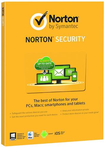 antivirus norton internet security 1 pc 1 año ultima version