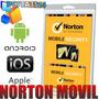 Software Norton Movil Security 2013 Tablets Celular Antirobo