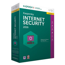 Kaspersky Internert Security 2016 I Licencia 3 Pcs X 1 Año