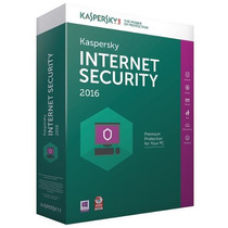 Licencia Kaspersky Internet Security 2016 10 Pc 1 Año