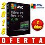 Antivirus Avg Internet Security 2016 Español (4 Pc X 2 Años)