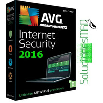 Avg Internet Security 2016 - Licencia Hasta Fbr-2018 5 Pc