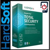 Kaspersky Total Security 3pc X 1año No Norton,no Eset