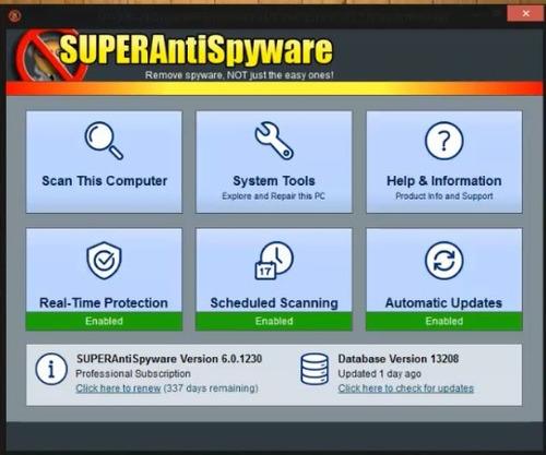 antivirus super antispyware 1 pc 1 año legal