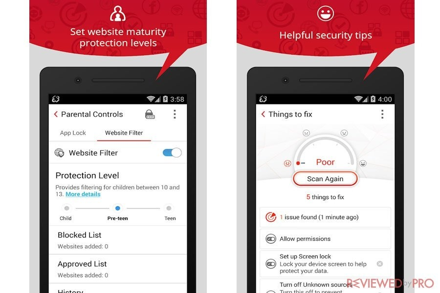 Antivirus Trend Micro - Mobile Security 1 Ano - Para Android