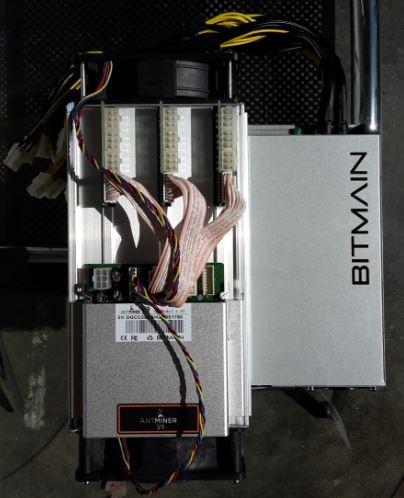 antminer v9 4th/s + fuente de poder + instalacion gratis
