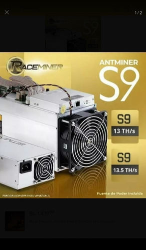 antminers s9/s9i/s9j/s9 hidro incluyen fuente de poder!!!