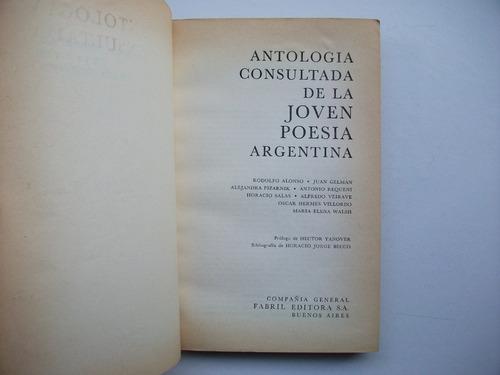 antología consultada de la joven poesía argentina - 1968