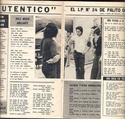 antología de la canción nº15 cancionero palito-alta tension-