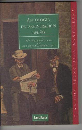 antología de la generación del 98