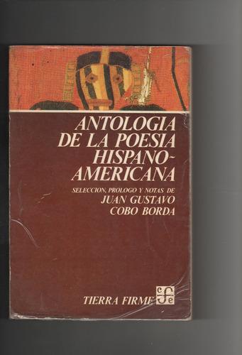 antologia de la poesia hispano americana  juan g cobo