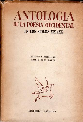 antología de la poesía occidental en los siglos 19 y 20