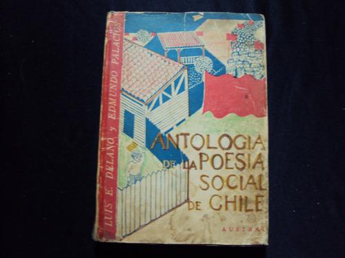 antologia de la poesia social de chile por luis enrique dela