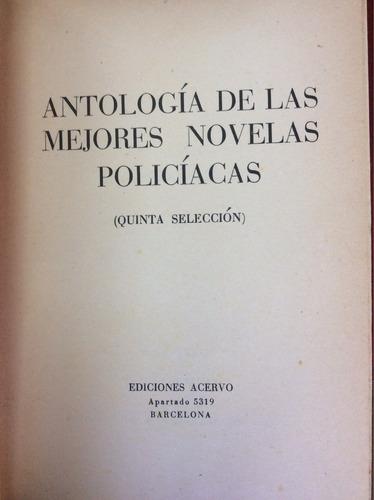 antología de las mejores novelas policiacas. tomo v