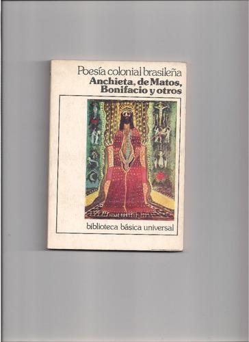 antologia de poesia colonial brasileña.