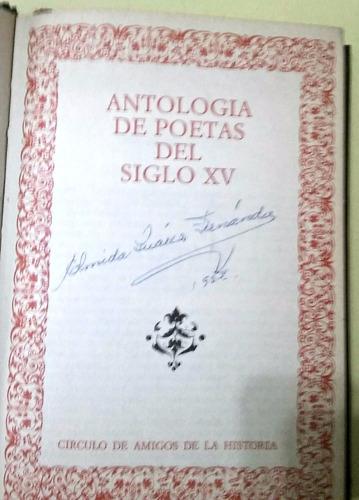 antología de poetas del siglo xv