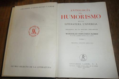 antologia del humorismo en la literatura universal tomo 1