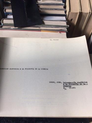 antología, filosofía de la ciencia