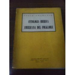 antologia iberica y americana del folklore  felix coluccio