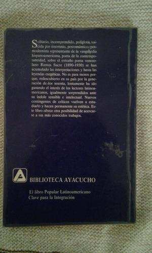antología / josé antonio ramos sucre (precio 1 verde)