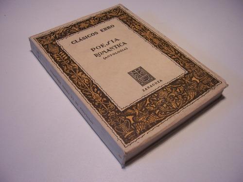 antologia poesía romantica clásicos ebro