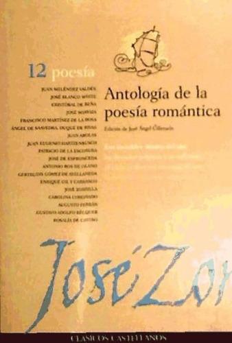 antologia poesia romantica(libro poesía)