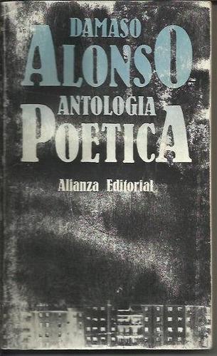 antologia poetica - alonso