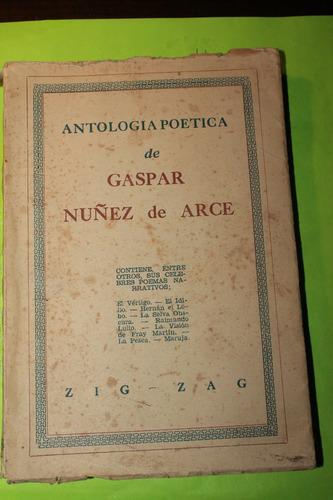 antologia poetica de gaspar nuñez de arce
