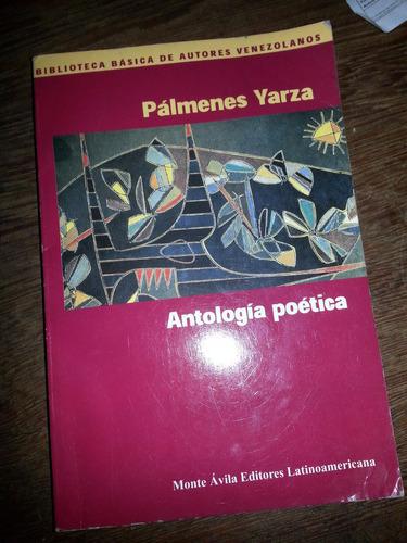 antología poética de pálmenes yarza