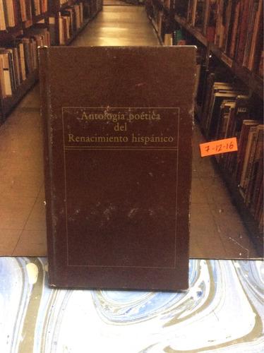 antología poética del renacimiento hispánico. poesía