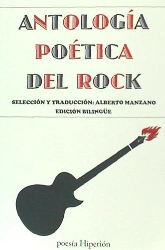 antología poética del rock(libro música)