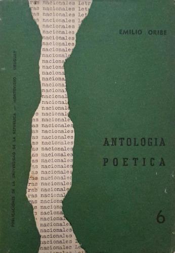 antología poética - emilio oribe