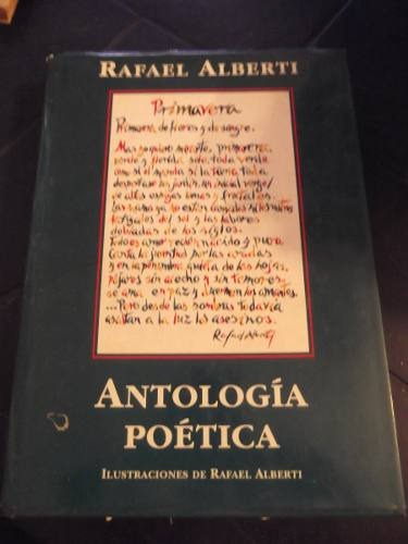 antologia poetica rafael alberti tapa dura