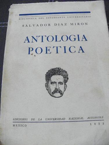 antología poética salvador díaz mirón