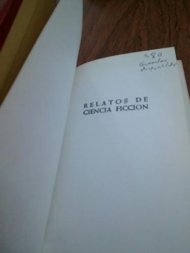 antología relatos de ciencia ficción - bruguera