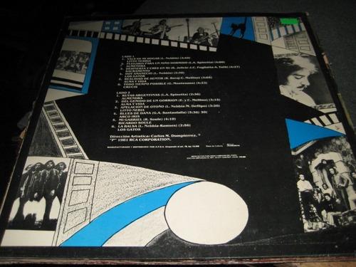 antologia rock argentino - almendra y otros - long play