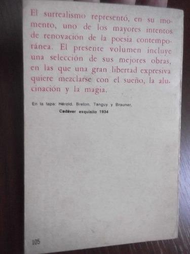 antologia surrealista artaud breton dali tzara queneau ceal