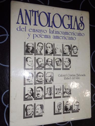antologias del ensayo latinoamericano y poema americano