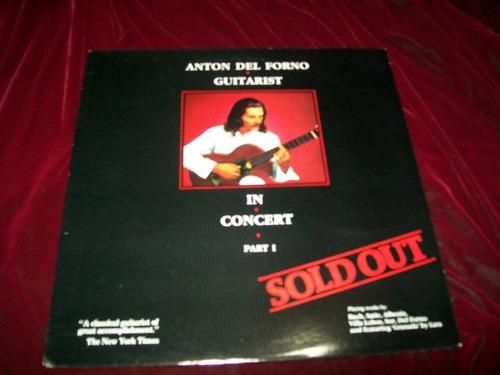 anton del forno - sold out lp vinil disco guitarra