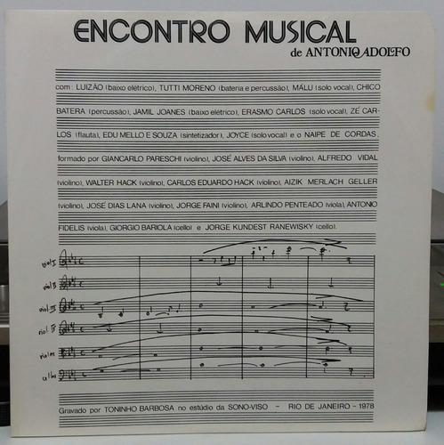 antonio adolfo  encontro musical  1978 (lp)