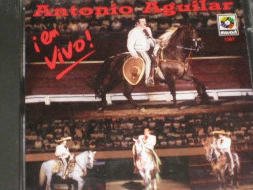 antonio aguilar ¡ en vivo ! c d 16 tracks 1995