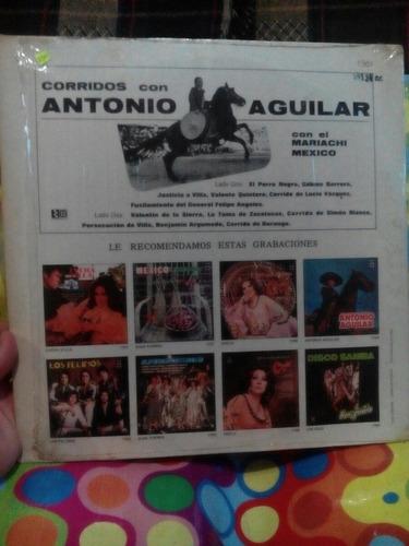 antonio aguilar lp 1968  corridos con el mariachi méxico