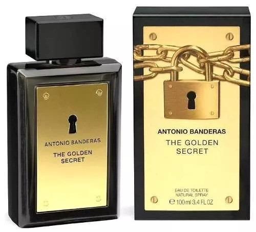 antonio banderas golden secret (decant amostra 5ml original