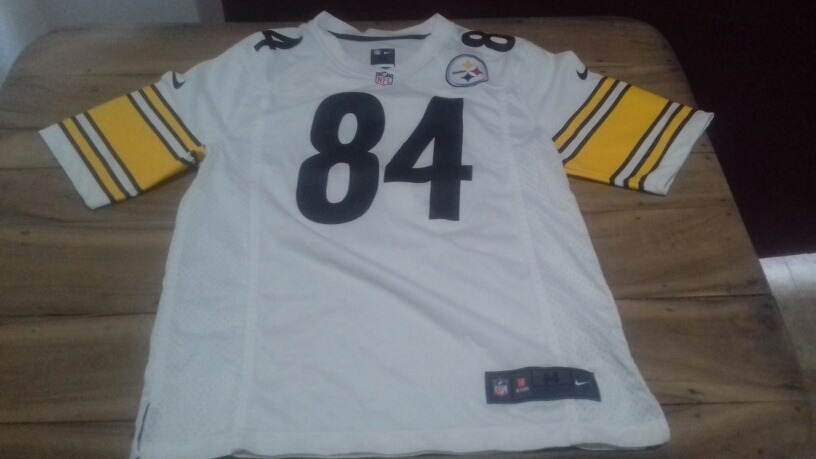 low priced 74c05 4c50d Antonio Brown Pittsburgh Steelers Jersey Blanco Talla M